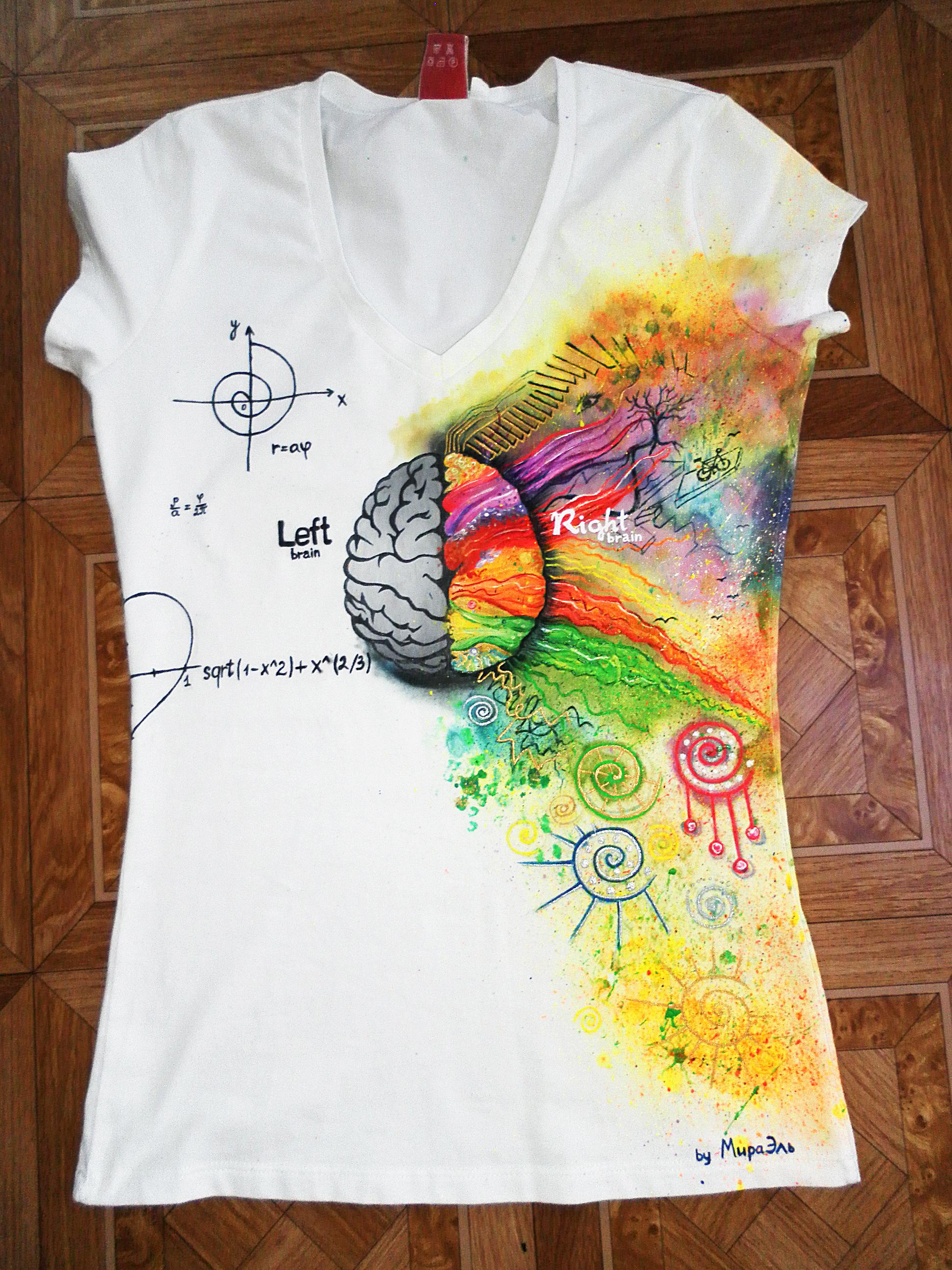 Интересная идея для футболок